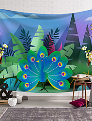 cheap -5 sizes beautiful Natural Forest Floral bird Printed Large Wall Tapestry Cheap Hippie Wall Hanging Bohemian Wall Tapestries Mandala Wall Art Decor