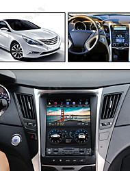 cheap -ZWNAV 10.4inch 1din 4GB 64GB Vertical screen Android 8.1 Car GPS Navigation car multimedia player Car MP5 Player radio tape recorder For Hyundai Sonata 8 2012-2014