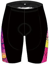 cheap -21Grams Women's Cycling Shorts Bike Shorts Padded Shorts / Chamois Pants Breathable 3D Pad Quick Dry Sports Stripes Black / Red Mountain Bike MTB Road Bike Cycling Clothing Apparel Bike Wear