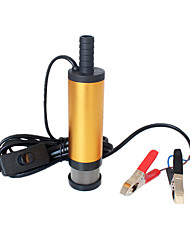 cheap -12V 24V DC electric submersible pump for pumping diesel oil water Aluminum alloy shell 12L/min fuel transfer pump 12 V