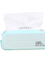 cheap -Extra Thick Dry Wipe 100% Cotton Lint-Free Cotton Tissues for Sensitive Skin Makeup Removing Towelettes Facial Cleansing Cloth Cruelty Free & Vegan Fragrance Free 100cts