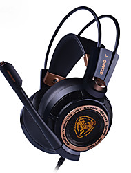 cheap -Somic G941 7.1 Virtual Surround Sound USB Gaming Headset with Mic Vibrating for PC Laptop
