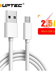 cheap -SUPTEC  Micro USB Cable for Sony LG Huawei Xiaomi Redmi Samsung A7 Android Phone Charger Adapter Cord Fast Charging Data Cable 2M