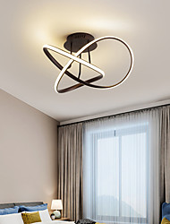 cheap -Modern Simple Ceiling Lamp Creative Bedroom Lamp Fashion Living Room Lamp Dining Chandelier Lamps 48 w