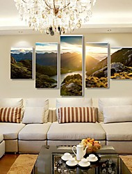cheap -5 Panels Modern Canvas Prints Painting Home Decor Artwork Pictures DecorPrint Rolled Stretched Modern Art Prints Nature Vintage