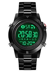 Недорогие -1500 Муж. Смарт Часы Android iOS Bluetooth Водонепроницаемый Спорт Секундомер Педометр Напоминание о звонке Датчик для отслеживания активности будильник