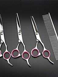 cheap -Grooming Stainless Steel Scissor Pet Grooming Supplies Rose