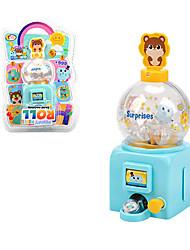 cheap -1 pcs Slot Machine Bank Jackpot Plastic Simulation Decompression Toys Mini Handheld Pocket Portable Kid's Adults' Toys Gifts
