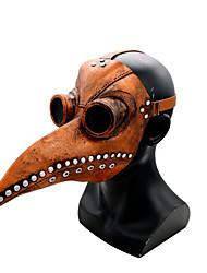 cheap -Plague Doctor Mask Men's Cotton One-Size Brown Black Gray 1pc / pack Adults Sports & Outdoor