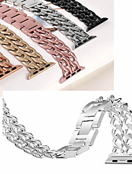 cheap -Fashion Stainless Steel Strap for Apple Watch series 5 4 40mm 44mm Band Metal Links Bracelet for iwatch series 1 2 3 strap 42mm 38mm