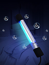 cheap -Rechargeable Mobile Uv Disinfection Lamp Portable Disinfection Stick Uv Mask Germicidal Lamp Rod Sterilizer Mites Light Lamp Air Purifier