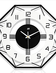 cheap -Wall Clock Modern Design Nordic Style Living Room Wall Clocks Home Decor Fashion Creative Bedroom Silent Clock Wall Decor