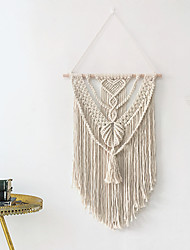 cheap -Macrame Wall Hanging Art Woven Wall Decor Boho Chic Home Decoration for Apartment Bedroom Living Room Gallery