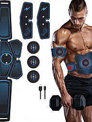 cheap -Abdominal Stickers Fitness Apparatus Abdomen Machine Smart Equipment Household Muscle Training AB Rocket Men and Women Thin Bell