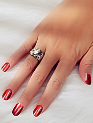 cheap -Ring Geometrical Silver Alloy Ball Precious Punk 1pc 8 / Women's