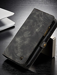 cheap -CaseMe Multifunctional Luxury Business Leather Magnetic Flip Case For iPhone 8/iPhone 7/iPhone 6/6s/iPhone 8 Plus/iPhone 7 Plus/iPhone 6 Plus With Wallet Card Slot Stand 2-in-1 Detachable Case Cover