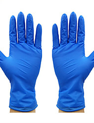 cheap -100Pcs Safety Gloves for Workplace Safety Supplies Rubber Gloves Nitrile Gloves Blue Gloves