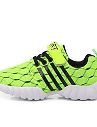 Недорогие -Мальчики Удобная обувь Сетка Спортивная обувь Большие дети (7 лет +) Беговая обувь Пурпурный / Оранжевый / Зеленый Осень