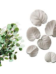 Недорогие -инструменты для выпечки фондант силиконовые формы лепесток листьев медная монета трава эвкалипта универсальный набор листьев пресс-формы