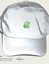 cheap -Baseball Cap Running Cap Unisex Hat Fashion Reflective Adjustable for Running Fitness Jogging Autumn / Fall Spring Summer Grey