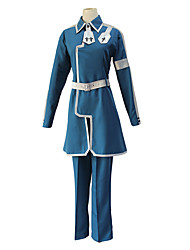 cheap -Inspired by SAO Swords Art Online Eugeo Anime Cosplay Costumes Japanese Cosplay Suits Coat Pants For Men's Women's