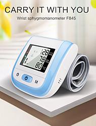 cheap -Sphygmomanometer home medical wrist electronic sphygmomanometer voice measurement multicolor convenient wrist measurement smart pressurization