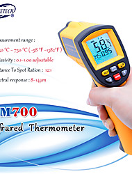 cheap -Digital laser infrared thermometer Non-Contact LCD IR Infrared Thermometers Gun GM700 -50 to 750 Celsius Temperature Meter