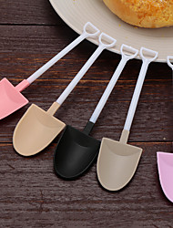 cheap -Ice Cream Spoons Mini Shovel Cake Cupcake Spoons Plastic Disposable Party Spoons