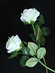 Недорогие -2шт моделирования роза пара свадебные принадлежности свадебная комната одеваются