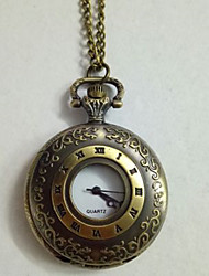 cheap -Unisex Pocket Watch Quartz Vintage Style Casual Creative Analog - Digital Bronze / Titanium Alloy