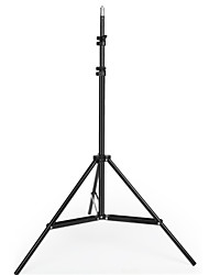 cheap -160cm 1.6m Light Stand Tripod With 1/4 Screw Head with Camera Tripod Lamp Holder Flash Bracket for Godox Flash video light DSLR Camera