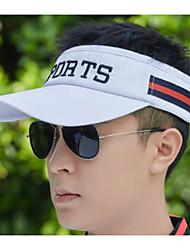 cheap -Unisex Basic Polyester Baseball Cap-Striped Black White