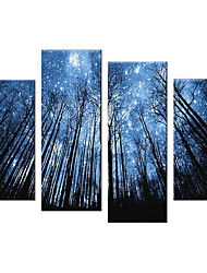 cheap -5 Panels Modern Canvas Prints Painting Home Decor Artwork Pictures Decor Print Rolled Stretched Modern Art Prints Nature Floral