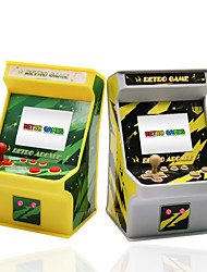cheap -Mini Retro Arcade Bolster Boxing Cool Built-in Game Card ABS Plastic Kid's Child's Toy Gift 1 pcs
