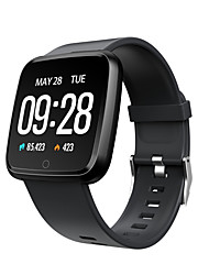 cheap -Y7 Unisex Smart Wristbands Android iOS Bluetooth Touch Screen Heart Rate Monitor Blood Pressure Measurement Calories Burned Long Standby ECG+PPG Pedometer Call Reminder Activity Tracker Sleep Tracker