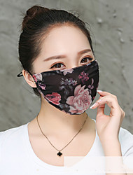 cheap -Dust Proof Durable Protection Antivirus PM2.5 Protection Bike / Cycling White / Pink Pink Black for Adults' Everyday Use Traveling Outdoor Flower 1 Piece