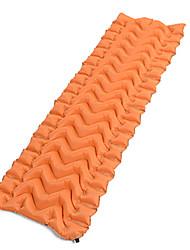 Недорогие -Надувной спальный коврик На открытом воздухе Походы Быстровысыхающий Воздухопроницаемость Меньше трения Полиэфирно-льняная ткань 180*60*5 cm для 1 человек