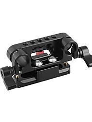 Недорогие -Camvate 15 мм двойной стержень зажима быстроразъемный нато зажим&усилитель; 70-мм рельс безопасности c2226
