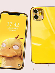 cheap -Case For iPhone 11/11 Pro /11 Pro Max TPU Electroplating Back Cover with Back Camera Protection 2 in 1