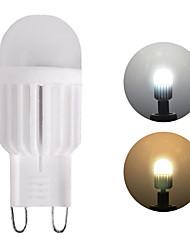 cheap -1pc 3 W LED Bi-pin Lights 450 lm G9 1 LED Beads High Power LED Dimmable Warm White White 220 V