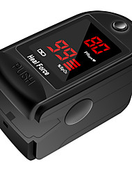 cheap -Heal Force Pulse Oximeter Fingertip Pulse Oximeter Fingertip Oximeter CVS Finger Clip Oximeter Black Simple Portable SpO2 Tester Pulse Rate Meter Heart Rate Monitor CMS50DL Batteries not Included