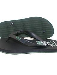 cheap -Men's PVC Spring & Summer Casual Slippers & Flip-Flops Breathable Color Block Orange / Green / Dark Green