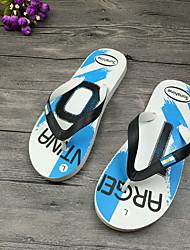 cheap -Men's PVC Spring & Summer Casual Slippers & Flip-Flops Breathable Light Red / Blue