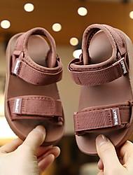 cheap -Girls' Comfort Canvas Sandals Little Kids(4-7ys) Camel / Red / Black Summer