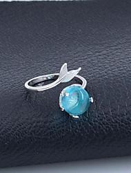 cheap -Ring Blue Alloy Elegant Holiday European 1 Piece Adjustable / Women's