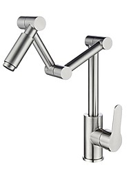 cheap -Kitchen faucet - Single Handle One Hole Electroplated Pot Filler Contemporary Kitchen Taps