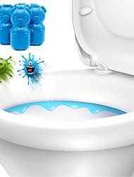 Недорогие -2шт пенящиеся очистители autoile автоматический уборщик туалета магия флеш в бутылках помощник синий пузырь дезодорант стиль случайный