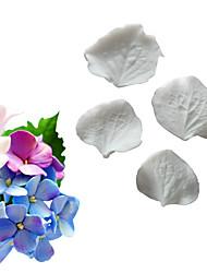 Недорогие -имитация гортензии орхидеи двусторонняя лепка помадка торт силиконовые формы выпечки инструмент