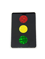 cheap -Magic Stop Light Cards Fashion Focus Toy Novelty Decompression Toys Plastic Adults Children's All Toy Gift 1 pcs
