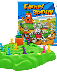 cheap -1 pcs Board Game Plastic Funny Bunny Decompression Toys Family Interaction 2 Players Kid's Adults' Toys Gifts
